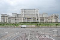 Nekdanja Ceauşescova rezidenca.  270m x 240 m, 86m višine v 12 nadstropjih.