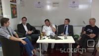 Od leve proti desni: Filip Dobranič, Simon Delakorda, Aleš Špetič, Marjan Turk in Kristjan Pečanac.