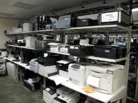 Microsoftov laboratorij za preverjanje združljivosti tiskalnikov.
