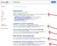 Založniki smatrajo, da Google služi z njihovimi vsebinami.