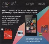 32 GB Nexus 7 že za vogalom?