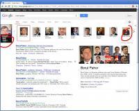 Google imena hitro poveže s slikami, ter drugimi povezanimi osebami. Te asociacije niso vedno zaželene.