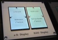 Uporaba tehnologije IGZO (Indium-Gallium-Zinc-Oxide) prinaša nižjo porabo energije