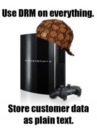 Scumbag Sony je sicer globoko v rdečih številkah