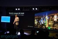 Sonyjeva predstavitev 56-palčnega televizorja