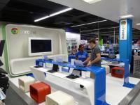 Google Chrome mini-store, Tottenham Court Road, London