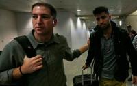 Greenwald in njegov partner David Miranda (pomenljiv priimek, vsekakor).