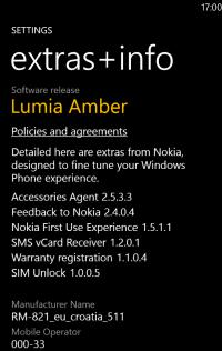 Lumia Amber