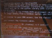 Kopiranje pomnilnika RAM preko FireWire vmesnika