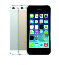 Trojica iPhone 5S v vseh barvnih odtenkih