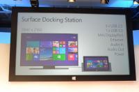 Primer uporabe priklopne postaje za Surface Pro