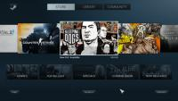 Steam Big Picture, na katerem bo verjetno osnovan vmesnik SteamOS