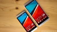 HTC One na levi, One Max na desni