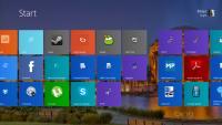 Bolj barvito ozadje štartnega zaslona