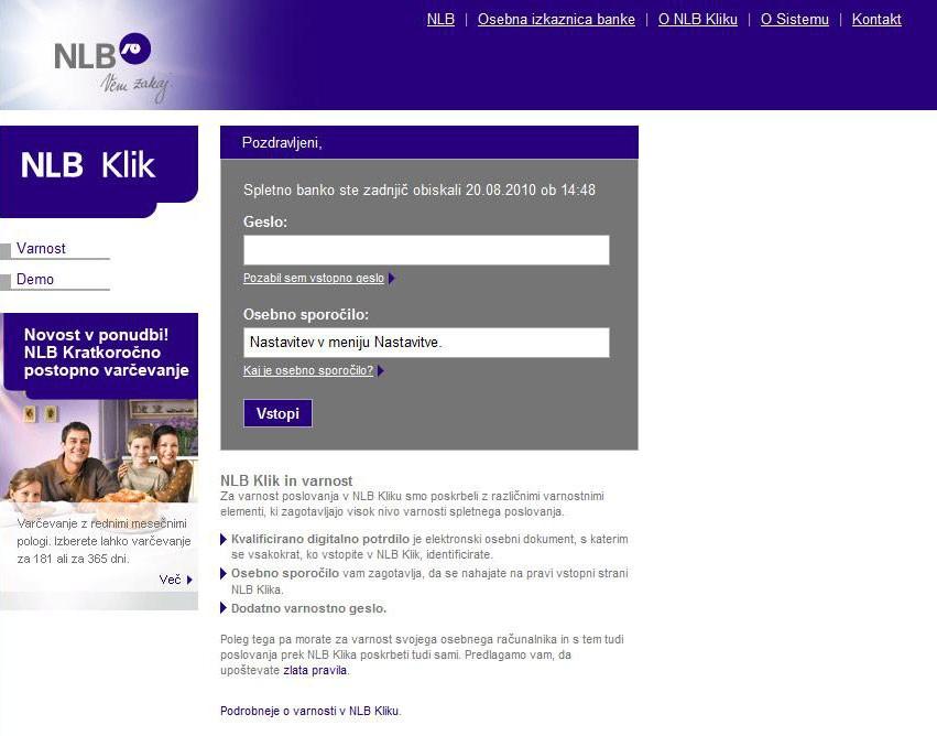 NLB mora povrniti škodo zaradi phishinga @ Slo-Tech