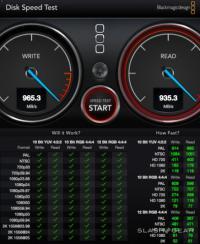 mac pro disk speed