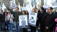 Protesti v Ankari, 21. 3. 2014.