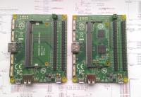 Povezovalna matična plošča brez in z modulom