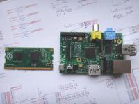 Primerjava modula z običajnim Raspberry Pi