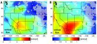 Nov članek kaže na pronicanje vode iz podzemnih rezervoarjev v Severni Ameriki.