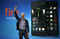 Bezos z novim telefonom.