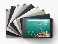 Nexus 9 v vseh barvah