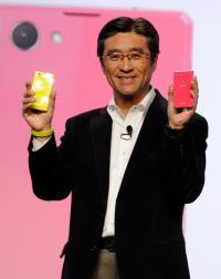 Kunimasa Suzuki predstavlja nove telefone Xperia