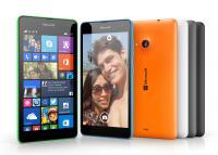 Microsoft Lumia 535 v celotnem naboru razpoložljivih barv
