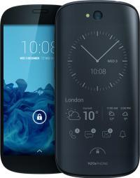 YotaPhone 2 od spredaj in od zadaj