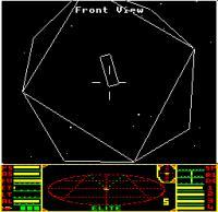 Elite na BBC Micro računalniku