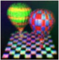 Trenutno so grafenski hologrami veliki le en centimeter.