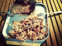 Pulled pork done