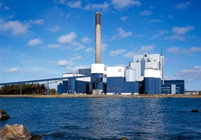 Meri-Pori je največja finska termoelektrarna na premog