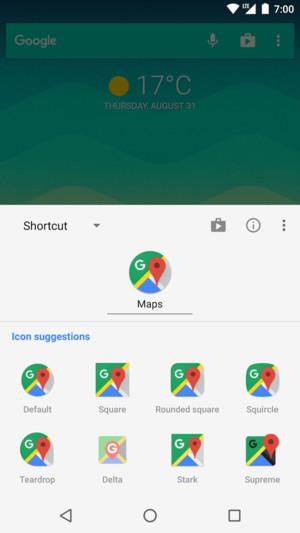 V Androidu 8.0 je mogoče ikone prilagoditi.