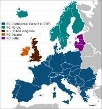 Problemi so na kontinentalnem omrežju (UCTE)