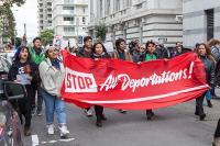 Protest proti deportacijam v San Franciscu. Vir: Wiki Commons