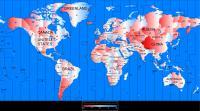 Večina držav leži v časovnih pasovih, ki ne ustrezajo sončnemu času.