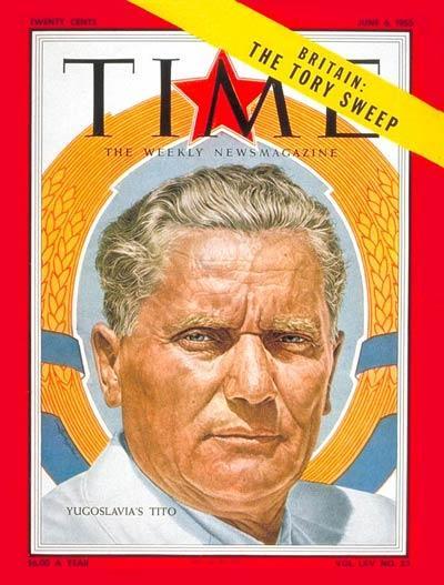 Naslovnica revije iz leta 1955