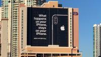 Applov oglas v Las Vegasu