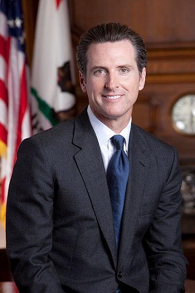Gavin Newsom, kalifornijski guverner