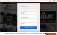 V spletni trgovini smo si lahko ustvarili uporabniški račun