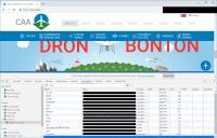 Spletna stran agencije za civilno letalstvo.