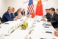 Predsednika Donald Trump in Xi Jinping na nedavnem srečanju G20