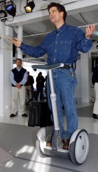 Dean Kamen na predstavitvi Segwayja