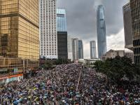 Protesti v Hong Kongu, vir: Flickr
