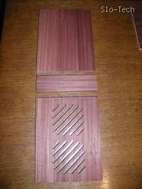 Slika 5: Elementi sprednje stranice - ličnice. (vratca, srednja in spodnja ličnica)