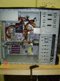Slika 18: Referenčni sistem v kovinskem ohišju