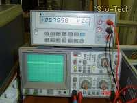 Slika 20: Priprava za merjenje temperature