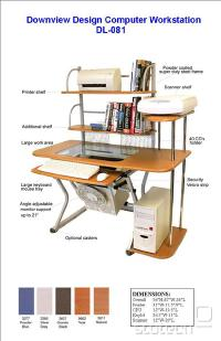 dobro zasnovana miza, ki nudi veliko prostora